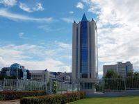 Офис компании Газпром, Москва.